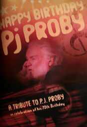 P.J. Proby 70th Birthday Tribute (Ltd Ed. Glossy Magazine)