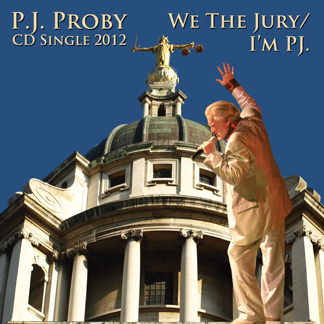 P.J. Proby - We The Jury / I'm PJ. (Autographed CD)