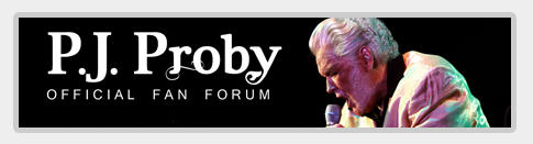 Official P.J. Proby Fan Forum